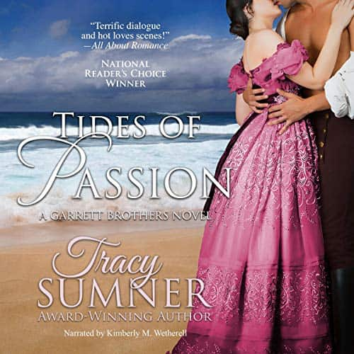 Audiobook cover for Tides of Passion (audiobook) by Tracy Sumner