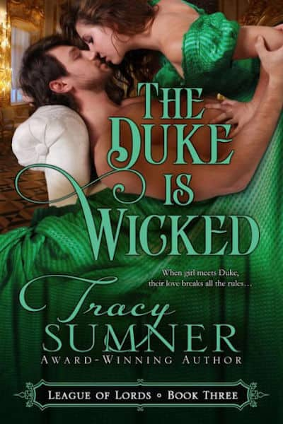 Book cover for The Duke is Wicked by Tracy Sumner