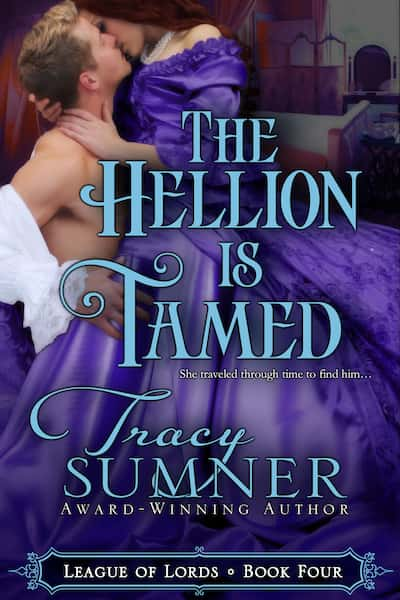 Book cover for The Hellion is Tamed by Tracy Sumner