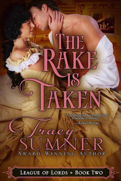 Book cover for The Rake is Taken by Tracy Sumner
